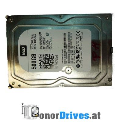 Western Digital WD5000AAVS-00ZTB0 - 500 GB - PCB 2060-701477-002 Rev. A