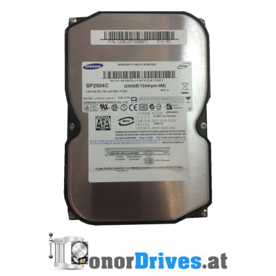 Samsung SP2504C - SATA - 2005.12 - 250 GB