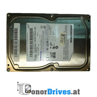 Samsung HD321KJ - 2008.10 - SATA - 320 GB