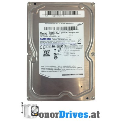 Samsung HD642JJ - SATA - 2008.12 - 640 GB