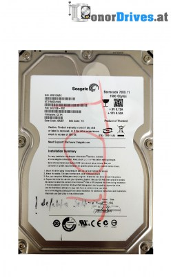 Seagate ST33320620AS - 9BJ14G-308 - SATA - 320 GB - PCB 100435196 Rev.A*