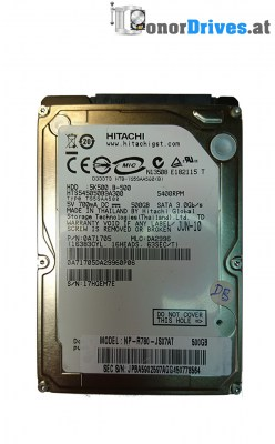 Hitachi HTS545050b9A300 - SATA - 500 GB - PCB 220 0A90161 Rev. 01