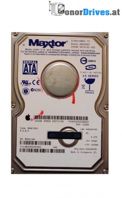 Maxtor DiamondMax 10 -6B250S0 - SATA - 250 GB - PCB 301931102 Rev.