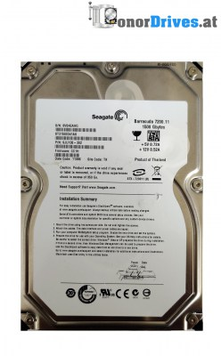 Seagate ST31500341AS - 9JU138-302 - SATA - 1,5 TB - PCB 100530756 Rev.A*